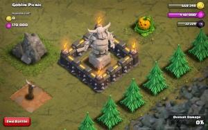 P.E.K.K.A's Statue in #38 Goblin Picnic Mission