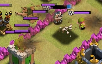 Lightning Spell Did Not Kill All Troops